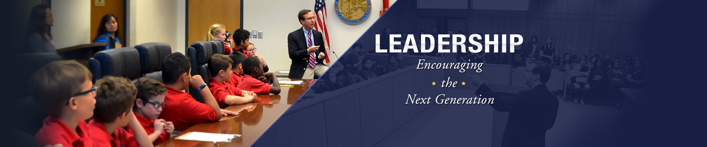 Brian Haas Leadership Encouraging the Next Generation