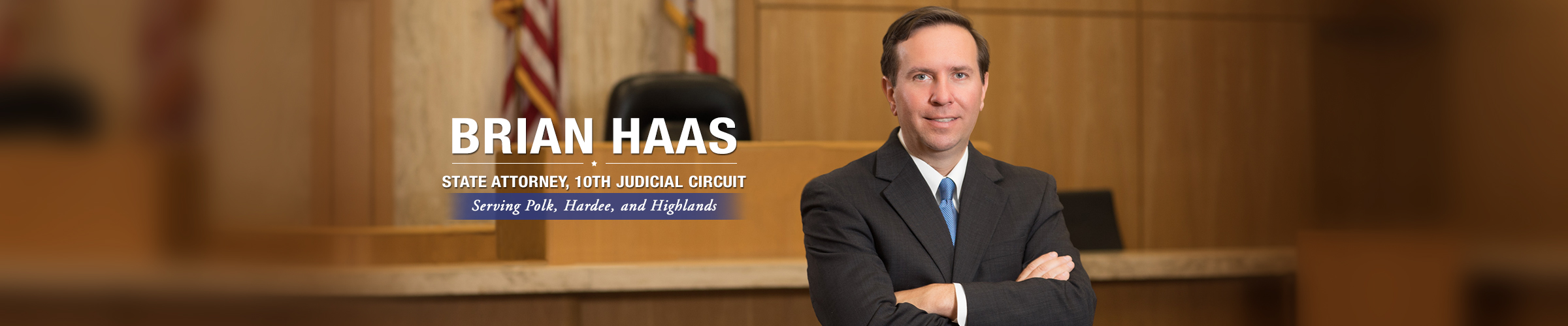 Brian Haas State Attorney 10th Judicial Circuit Slider Image