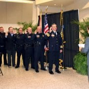 Haas administers oath for Polk Police Chiefs Association
